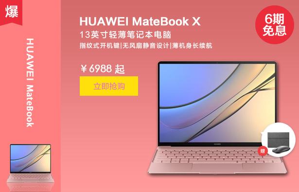MateBook X